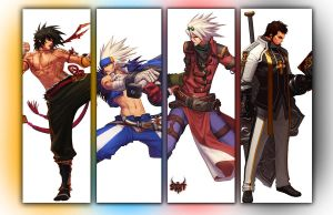 Dungeon fighters male charicters by skyracer46