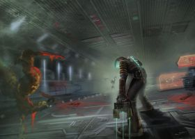 Dead Space fan art by Svetlio3d