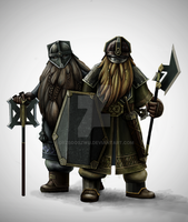 Dwarves of Ered Luin by grzegoszwu