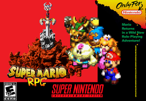 Super Mario RPG by Tailikku1