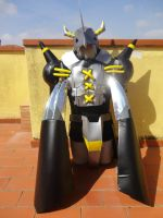 BlackWarGreymon digimon cosplay by Roxashearts