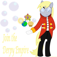 Derpy Hooves as Eggman by Radiant--Eclipse