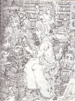 The Library by Germany-san