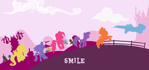 Parade of Smile by draco-runan