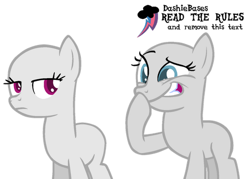 MLP Base: Her tatas are so small is funny by KIngBases