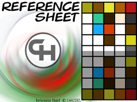 Color Reference Sheet by Link2262