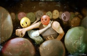 EMOTICON FIGHT CLUB by quick2004