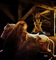 The attic of Horrors by Julianez