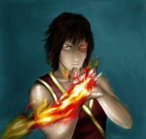 Zuko- colored by AJ333