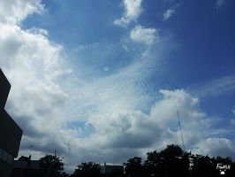 Low Pressure rolling in, Cirrocumulus by LordFrankeh