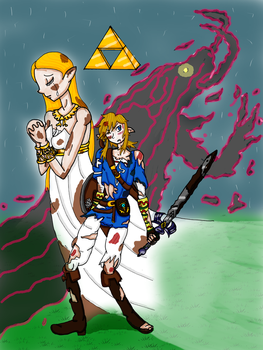 Concours the Legend of Zelda Breath of the wild by Oline02