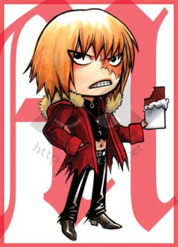 Death Note - Angry Chocoholic by blk-kitti