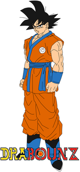 dbz movie 2015 goku concept by DrabounZ