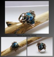 Maire- wire wrapped ring by mea00