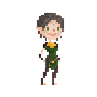 Pixel Merrill by maicakes