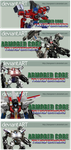 Armored Core - Advertising by leangreen76