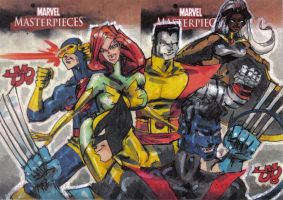 MM2 artist proof UNCANNY X-MEN by jasinmartin