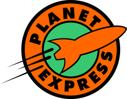 Planet Express Logo Space Suite commercial by Pencilshade