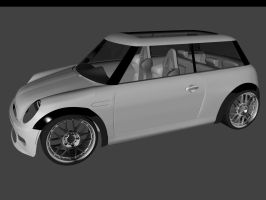 minicooper wip3 by 3DEricDesign