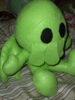 Little Cthulu plush by HeatherMason76