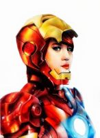 Iron Woman by Alb-art