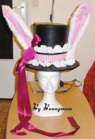 Full Moon Wo Sagashite - Meroko Yui bunny hat by Bunnymoon-Cosplay