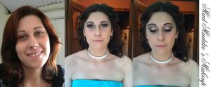 Formal hair and makeup by madmaddiesmakeup