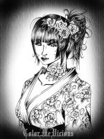 Winter Geisha by ColorMeVicious
