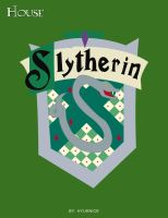 HP Cards- Slytherin crest by Hyuknice