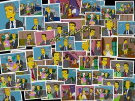 The Simpsons by Mobsie