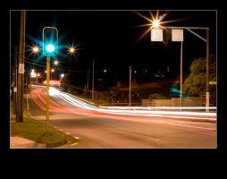 92 seconds of traffic at night by Weazler