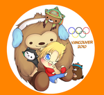 Canadian Winter Olympics 2010 by Hei-Chan