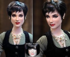 Breaking Dawn Alice Cullen doll repaint by noeling