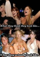 What Party Girls Actually Look Like by Qtsy