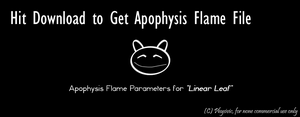 Linear Leaf: Flame Parameters by physivic