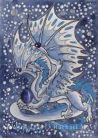 ACEO Dragon 27 by rachaelm5