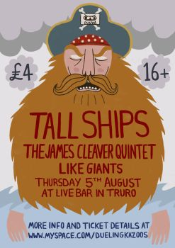 Tall Ships Poster by Teagle