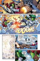 She-Hulks issue 4 page 4 by RyanStegman