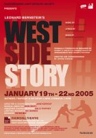 West Side Story Poster Red by legley