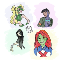 Princesses of Justice by AtomicAzure