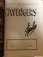 STAN LEE AUTOGRAPH by 127thlegion