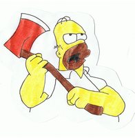 Bad Homer by booboojim
