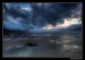 Abersach Beach Wales by Leeby