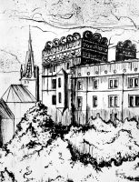 Castle of  Pomeranian Princes 1 by Anoroth