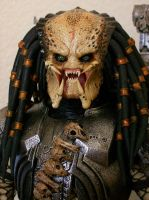 Hot toys Scar Predator unmasked Closed mandibles by ShadowPredator2012