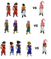 More fusions by SSJ45gohan