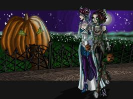 CE: Passing by the 'Jack O lantern' house by loud-thunder-2012