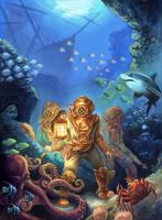 20,000 leagues under the sea by GoldenDaniel