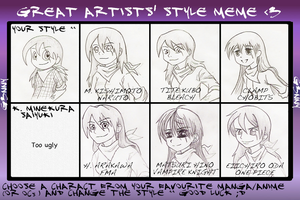 Great Artist Style meme by Zerochan923600