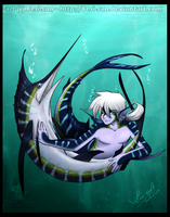 The Striped Marlin by Ferisae